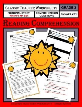 Reading Comprehension - Grade 3 (3rd Grade) - Fictional St