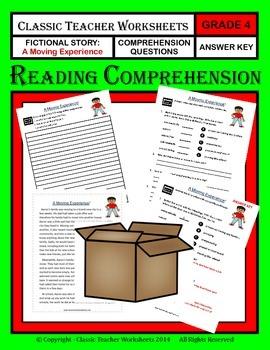 Reading Comprehension - Grade 4 (4th Grade) - Fictional St