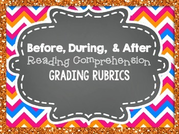 Reading Comprehension Grading Rubrics