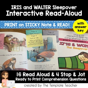 Reading Comprehension & Interactive Read Aloud with Iris a