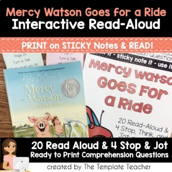 Reading Comprehension & Interactive Read Aloud with Mercy