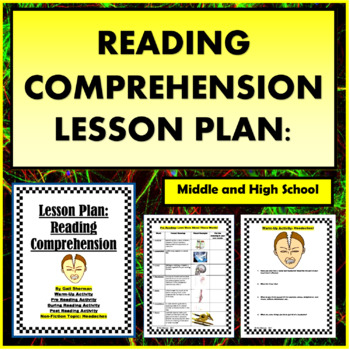 Reading Comprehension Lesson