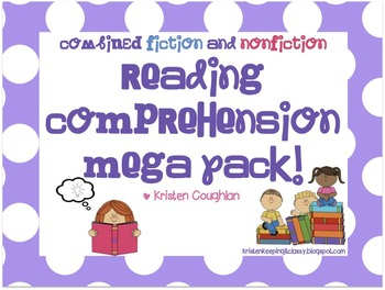 Reading Comprehension MEGA PACK: Fiction and Nonfiction