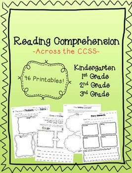 Reading Comprehension Pack (Aligned to CCSS)