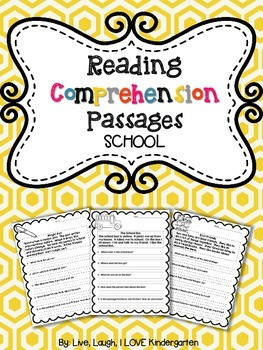Reading Comprehension Pages: SCHOOL