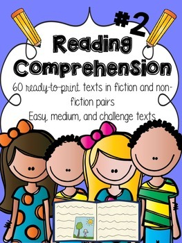Reading Comprehension Passages #2 { 60 fiction and non-fic