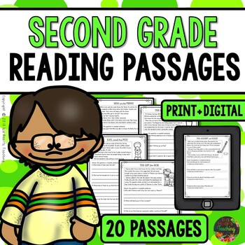 Second Grade Reading Comprehension Passages