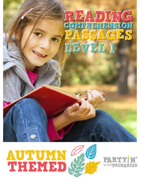 Reading Comprehension Passages Autumn Themed: Guided Readi