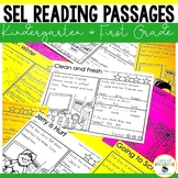 First Week of School Reading Comprehension Passages Dictat