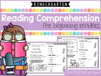 Reading Comprehension Passages For Beginning Readers (Mult