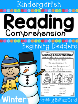 Reading Comprehension Passages For Beginning Readers (Wint