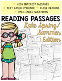 Comprehension Passages {Late Spring/Summer Themed and Comm