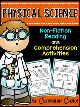 Reading Comprehension Passages: PHYSICAL SCIENCE Edition!