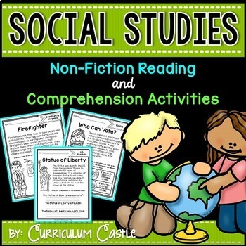 Reading Comprehension Passages: SOCIAL STUDIES Edition!