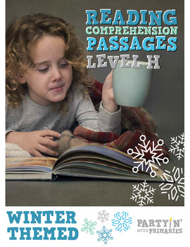 Reading Comprehension Passages Winter Themed: Guided Readi
