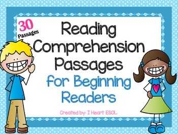 Reading Comprehension Passages for Beginning Readers- Guid