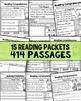 Reading Comprehension Passages for Early Readers - HUGE BU