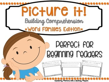 Reading Comprehension Printables Word Families Edition