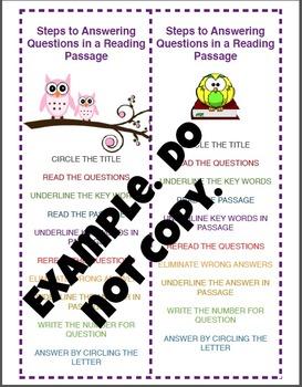 Reading Comprehension QAR Strategies