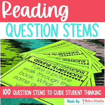 Reading Comprehension Question Stems