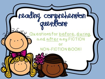 Reading Comprehension Questions Fiction & Non-Fiction (com