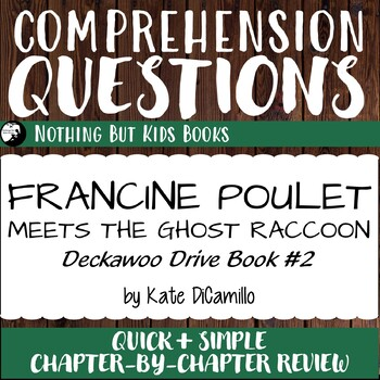 Reading Comprehension Questions for Francine Poulet Meets