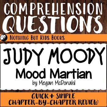 Reading Comprehension Questions for Judy Moody #12