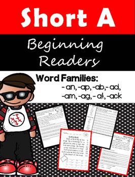 Beginning Readers - Reading Comprehension Short A