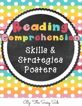 Reading Comprehension Skills and Strategies Posters