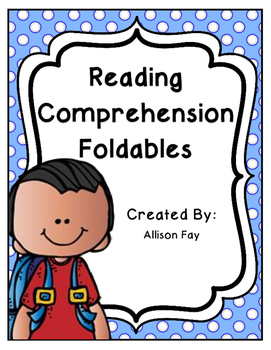 Reading Comprehension Skills and Strategies Foldables