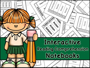 Reading Comprehension Skills and Strategies Interactive Notebook