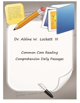 Reading Comprehension Stories and Worksheets aligned to Co