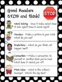 Reading Comprehension Strategies - Good Readers STOP and T
