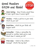 Reading Comprehension Strategies - Good Readers STOP and Think