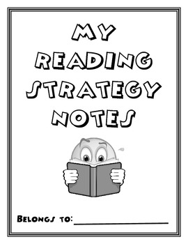 Reading Comprehension Strategy Notes Packet