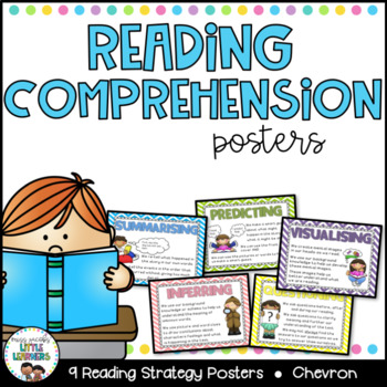 Reading Comprehension Strategy Posters {Chevron}