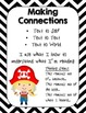 Reading Comprehension Strategy Posters- Pirates Theme