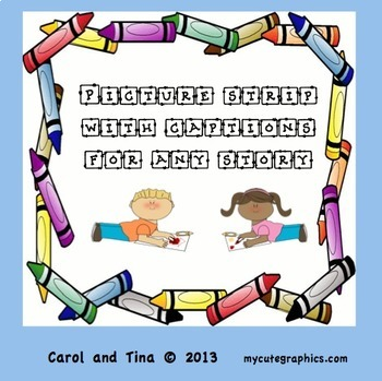 Reading Comprehension Strategy:Picture Strip With Captions