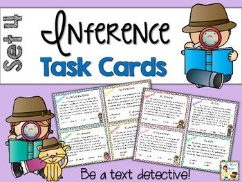 Inference Task Cards - Set 4