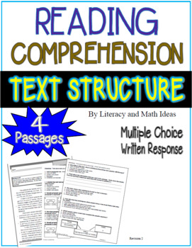 Reading Comprehension:  Text Organization
