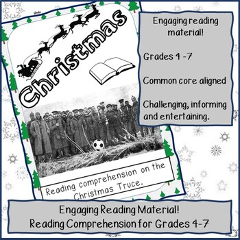 Reading Comprehension - The Christmas Truce
