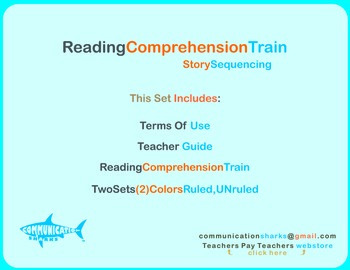 Reading Comprehension Train: Writing Template for Sequenci