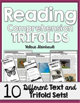 Reading Comprehension Trifolds