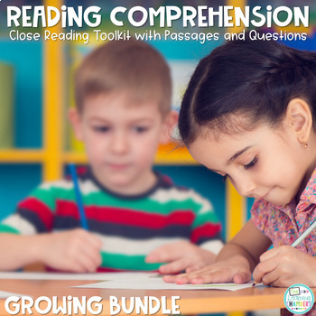 Reading Comprehension Units Bundle: Main Idea, Comprehensi