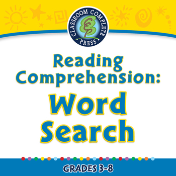 Reading Comprehension: Word Search - PC Gr. 3-8