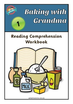 Reading Comprehension Workbook - Baking with Grandma