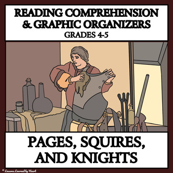 Reading Passages and Graphic Organizers - Pages, Squires a