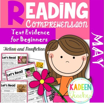 Reading Comprehension and Text Evidence -May