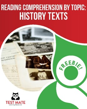 Reading Comprehension by Topic: History Texts (Common Core