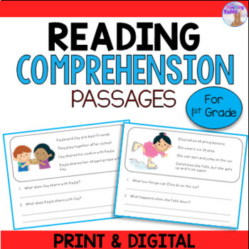 Reading Comprehension for First Grade